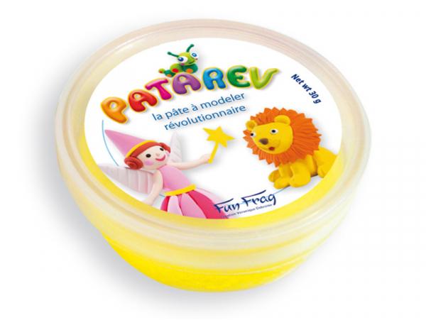 Acheter Pot de 30 g de pâte à modeler PATAREV Jaune - 2,99€ en ligne sur La Petite Epicerie - Loisirs créatifs