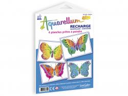 Acheter Recharge aquarellum junior - papillons - 8,00€ en ligne sur La Petite Epicerie - Loisirs créatifs