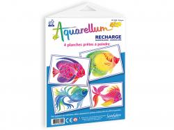 Acheter Recharge aquarellum junior - poissons - 8,00€ en ligne sur La Petite Epicerie - Loisirs créatifs