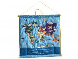 Acheter Mon premier atlas en tissu - 34,95€ en ligne sur La Petite Epicerie - Loisirs créatifs
