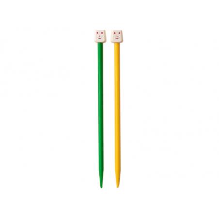 Acheter Aiguilles à tricoter pour enfants - 6 mm - 2,99€ en ligne sur La Petite Epicerie - Loisirs créatifs