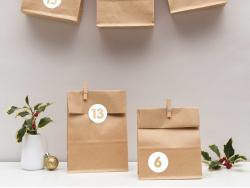 Acheter Kit calendrier de l'avent - kraft - 11,99€ en ligne sur La Petite Epicerie - Loisirs créatifs