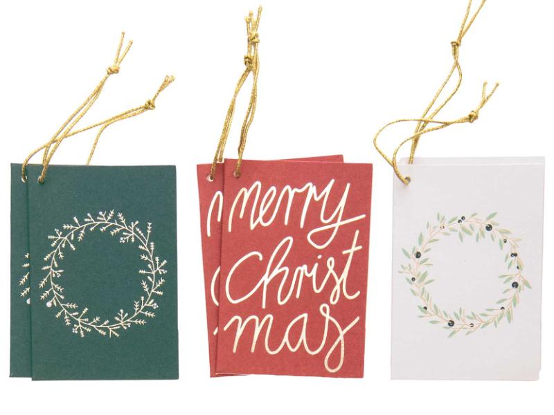 Acheter Etiquettes pour cadeaux - Noël - 4,39€ en ligne sur La Petite Epicerie - Loisirs créatifs