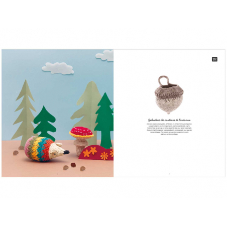 Acheter Livre Ricorumi - funny fall - chouette automne - 3,99€ en ligne sur La Petite Epicerie - Loisirs créatifs