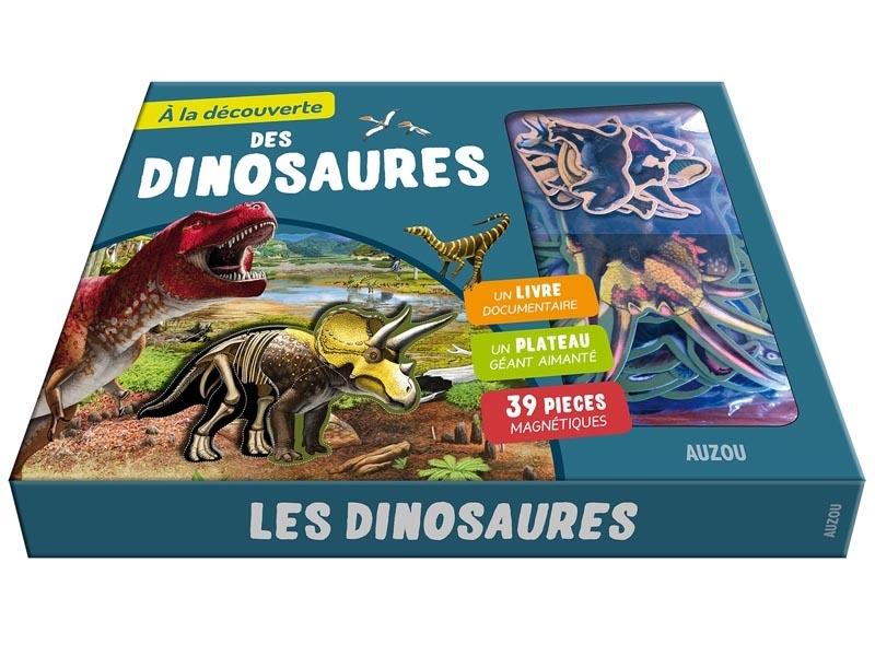 Acheter Coffret A la découverte des dinosaures - E. Ousset et Ples - 19,95€ en ligne sur La Petite Epicerie - Loisirs créatifs