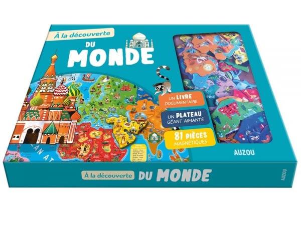 Acheter Coffret A la découverte du monde - P. David et E. Varone - 19,95€ en ligne sur La Petite Epicerie - Loisirs créatifs