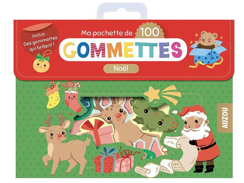 Acheter Pochette de 100 gommettes - Noël - 4,95€ en ligne sur La Petite Epicerie - Loisirs créatifs