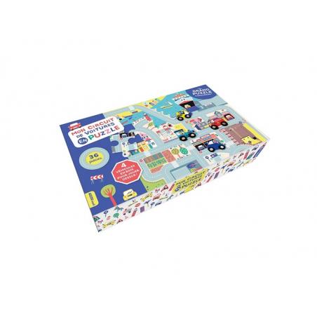 Acheter Mon circuit de voitures en puzzle - 19,95€ en ligne sur La Petite Epicerie - Loisirs créatifs