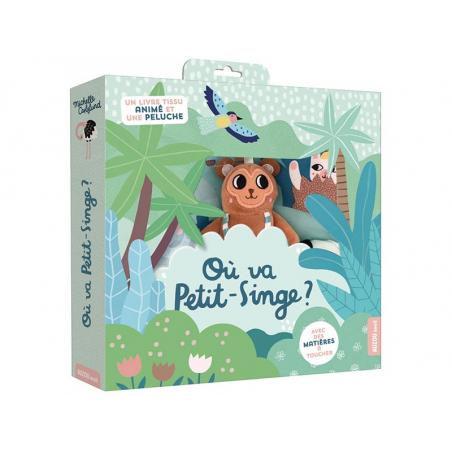 Acheter Livre - Où va petit-singe ? - Michelle Carlslund - 19,95€ en ligne sur La Petite Epicerie - Loisirs créatifs