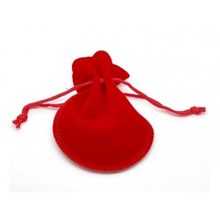 Acheter Pochette rouge en velours - 1,29€ en ligne sur La Petite Epicerie - Loisirs créatifs