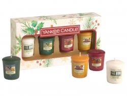 Acheter Coffret cadeau de Noël de 4 bougies votives yankee candle - 9,89€ en ligne sur La Petite Epicerie - Loisirs créatifs