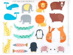 """Acheter Panneaux coton Dashwood """"habitat"""" pour doudous - 20,99€ en ligne sur La Petite Epicerie - Loisirs créatifs"""