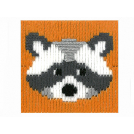 Acheter Kit canevas pour enfant Raton laveur Walter - point lancé - 17,39€ en ligne sur La Petite Epicerie - Loisirs créatifs