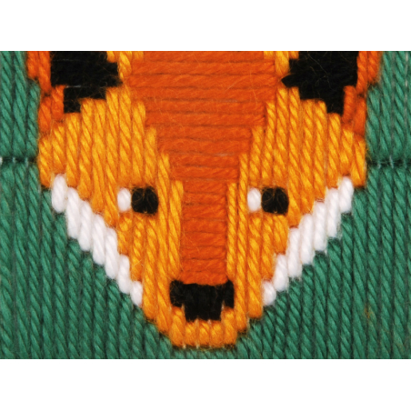Acheter Kit canevas pour enfant Gunther le renard - point lancé - 17,39€ en ligne sur La Petite Epicerie - Loisirs créatifs