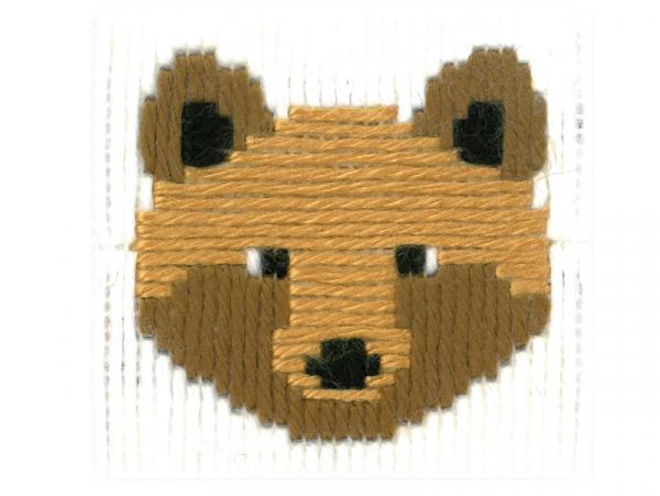 Acheter Kit canevas pour enfant l'ours Bruno - point lancé - 17,39€ en ligne sur La Petite Epicerie - Loisirs créatifs
