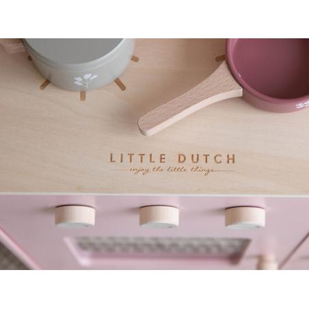 Acheter Cuisine en bois rose - Little Dutch - 118,99€ en ligne sur La Petite Epicerie - Loisirs créatifs