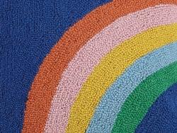 Acheter Coussin punch needle 40,7 x 40,7 cm - Arc en ciel - 39,99€ en ligne sur La Petite Epicerie - Loisirs créatifs