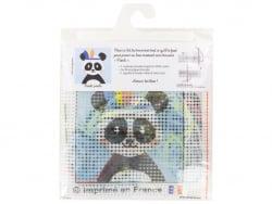 Acheter Kit canevas pour enfant - pandi-panda - 20 x 20 cm - 12,99€ en ligne sur La Petite Epicerie - Loisirs créatifs