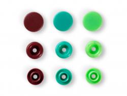 Acheter Prym love bout. press. plast. 12,4mm vert/vert cla - 3,39€ en ligne sur La Petite Epicerie - Loisirs créatifs