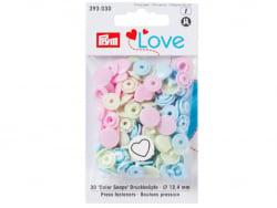Acheter Prym love boutons press. coeur 12,4mm rose/vert/bl - 3,39€ en ligne sur La Petite Epicerie - Loisirs créatifs