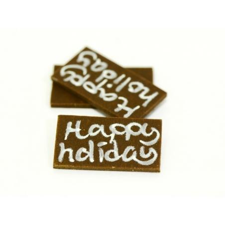 """1 Plaque """"Happy Holiday"""""""