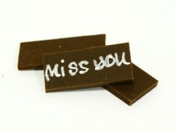 "1 Plaque ""Miss you""  - 1"