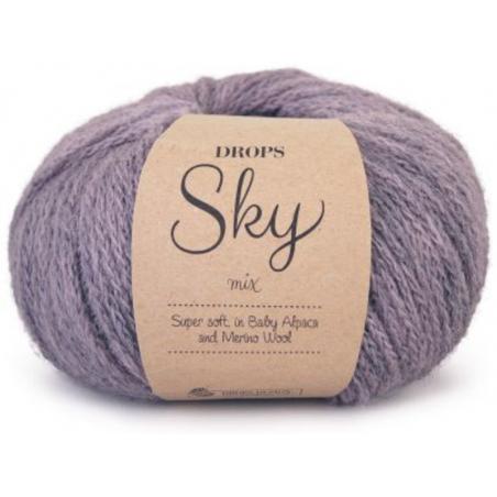 Acheter Laine Drops - Sky - 08 Lavande (mix) - 5,85€ en ligne sur La Petite Epicerie - Loisirs créatifs