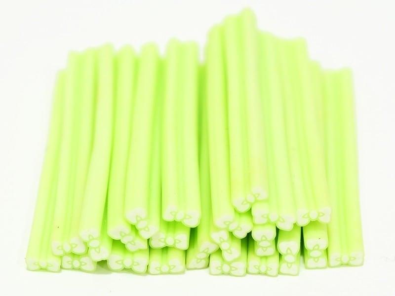 Bow cane - sea green