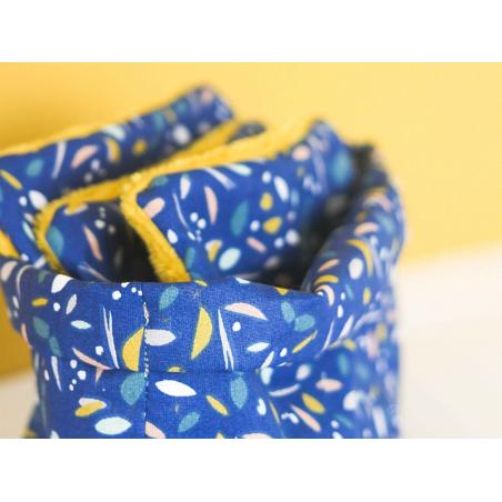 Acheter KIT MKMI - Mes lingettes démaquillantes - bleu/moutarde - 16,99€ en ligne sur La Petite Epicerie - Loisirs créatifs
