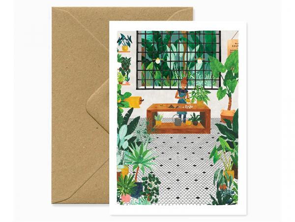 Acheter Carte et enveloppe - Gardener - 3,49€ en ligne sur La Petite Epicerie - Loisirs créatifs