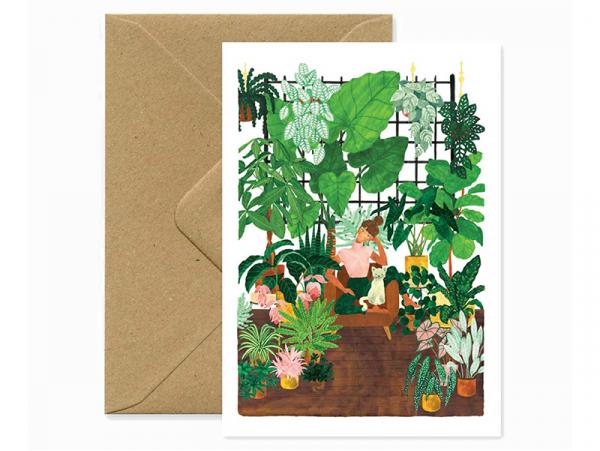Acheter Carte et enveloppe - Plant lady lifestyle - 3,49€ en ligne sur La Petite Epicerie - Loisirs créatifs