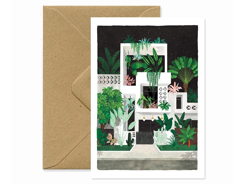Acheter Carte et enveloppe - Miami by night - 3,49€ en ligne sur La Petite Epicerie - Loisirs créatifs