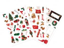 Acheter 3 planches de stickers - Noël ATWS - 4,89€ en ligne sur La Petite Epicerie - Loisirs créatifs