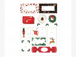 Acheter 3 planches de stickers - Noël - 4,89€ en ligne sur La Petite Epicerie - Loisirs créatifs