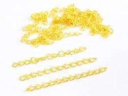 Acheter 20 chaînes d'extension - doré - 2,09€ en ligne sur La Petite Epicerie - Loisirs créatifs