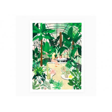 Acheter Affiche Butterfly greenhouse - 18 X 24 cm - ATWS - 11,99€ en ligne sur La Petite Epicerie - Loisirs créatifs