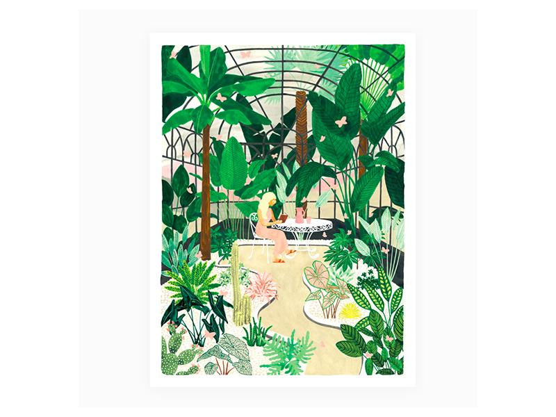 Acheter Affiche Butterfly greenhouse - 29,7 X 39,7 cm - 23,99€ en ligne sur La Petite Epicerie - Loisirs créatifs