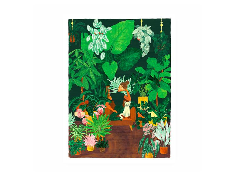 Acheter Affiche Plant Addict - 29,7 X 39,7 cm - 23,99€ en ligne sur La Petite Epicerie - Loisirs créatifs