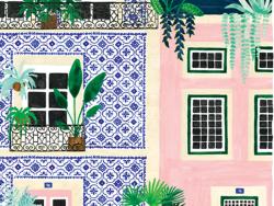 Acheter Affiche aquarelle - Lisbonne - 18 x 24 cm - ATWS - 11,99€ en ligne sur La Petite Epicerie - Loisirs créatifs