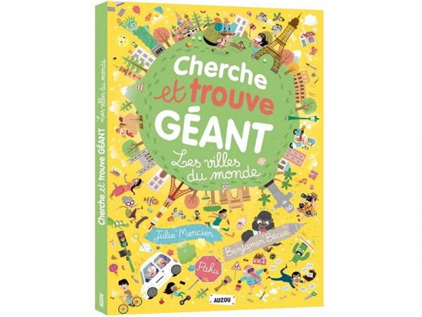 Acheter Cherche et trouve géant - Les villes du monde - 22,95€ en ligne sur La Petite Epicerie - Loisirs créatifs
