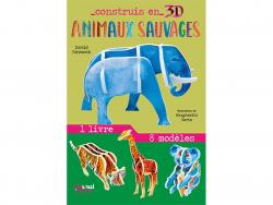Acheter Coffret Construis en 3D Animaux sauvages - 8 animaux à assembler - 9,90€ en ligne sur La Petite Epicerie - Loisirs c...
