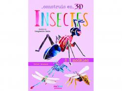 Acheter Coffret Construis en 3D Insectes - 8 animaux à assembler - 9,90€ en ligne sur La Petite Epicerie - Loisirs créatifs