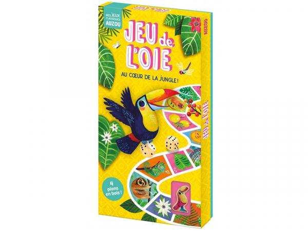 Acheter Jeu de l'oie - Au coeur de la jungle ! - 14,95€ en ligne sur La Petite Epicerie - Loisirs créatifs