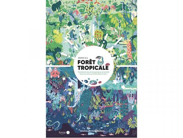 Acheter Livre Dans la forêt tropicale : jour et nuit - Paula McGloin - 19,95€ en ligne sur La Petite Epicerie - Loisirs créa...