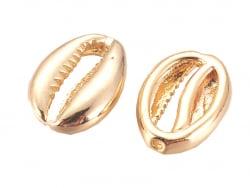 Acheter Perle cauri 3,5 mm - doré à l'or fin 18k - 1,99€ en ligne sur La Petite Epicerie - Loisirs créatifs