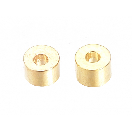 Acheter 10 perles intercalaires - doré à l'or fin 18k - 2,5 x 2 mm - 1,59€ en ligne sur La Petite Epicerie - Loisirs créatifs