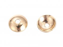 Acheter 10 perles coupelles - doré à l'or fin 18k - 4 x 1 mm - 4,49€ en ligne sur La Petite Epicerie - Loisirs créatifs