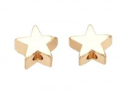 Acheter 10 perles étoiles - doré à l'or fin 18k - 6 x 6 x 3 mm - 6,99€ en ligne sur La Petite Epicerie - Loisirs créatifs