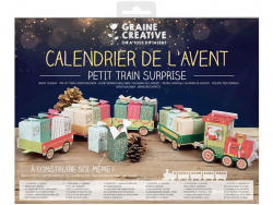Acheter Calendrier de l'avent 2020 - Petit train surprise 11 x 75 cm - 7,79€ en ligne sur La Petite Epicerie - Loisirs créatifs