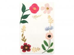 Acheter Grand bloc-notes Wildflowers - 15 x 23 cm - 13,09€ en ligne sur La Petite Epicerie - Loisirs créatifs